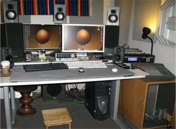 Sound designer Chris Seifert's audio setup