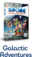 Spore Galactic Adventures for Mac or PC