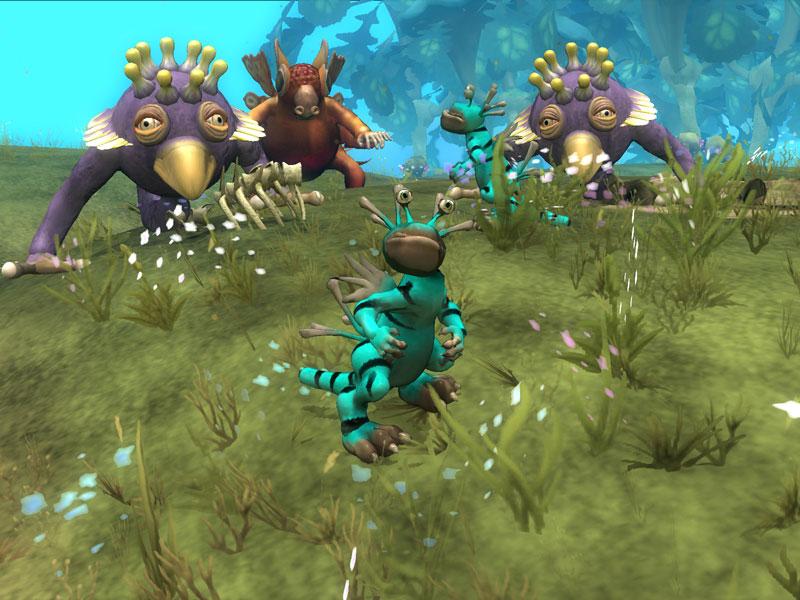 Компьютерные игры / Spore вернулась в тройку лидеров.